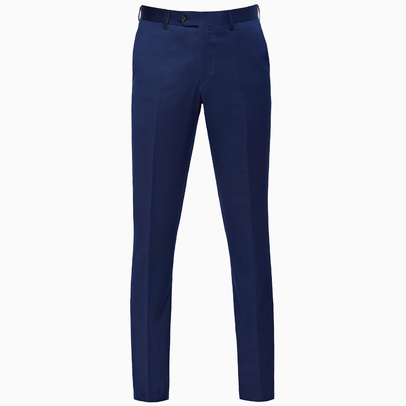 Yaletown DWR Suit Pant <br> Royal Navy