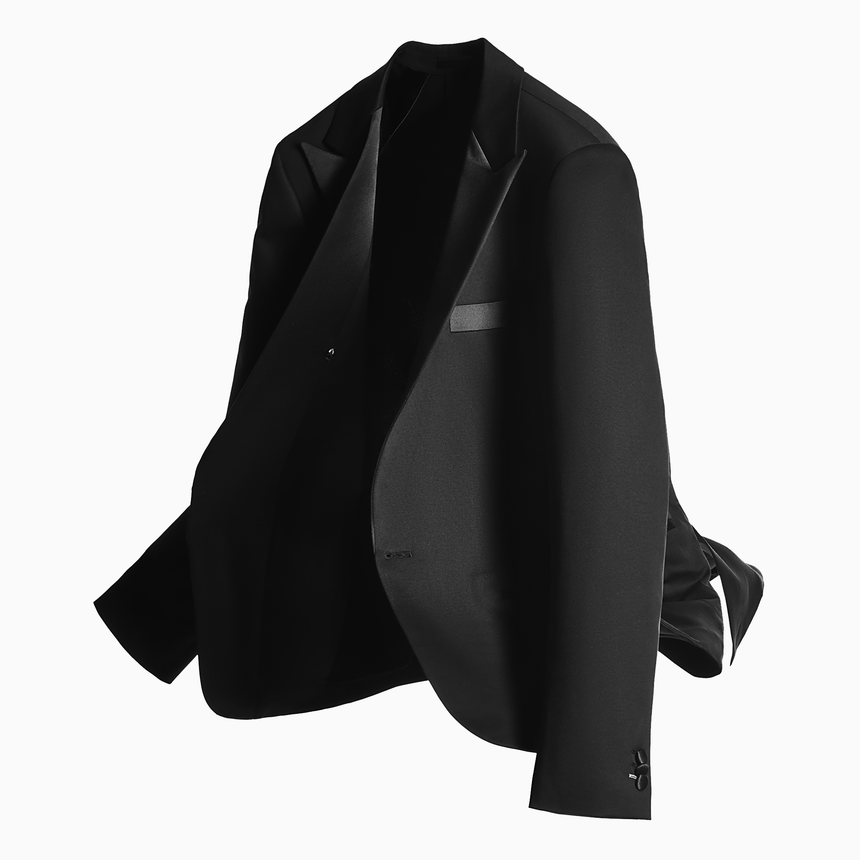 Marine Drive 360° Tux Jacket (Midnight Black)