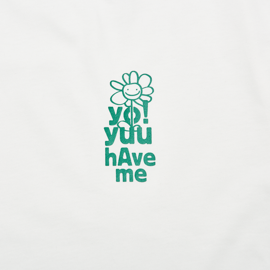 YHM Season Motif SS T-Shirt (White)