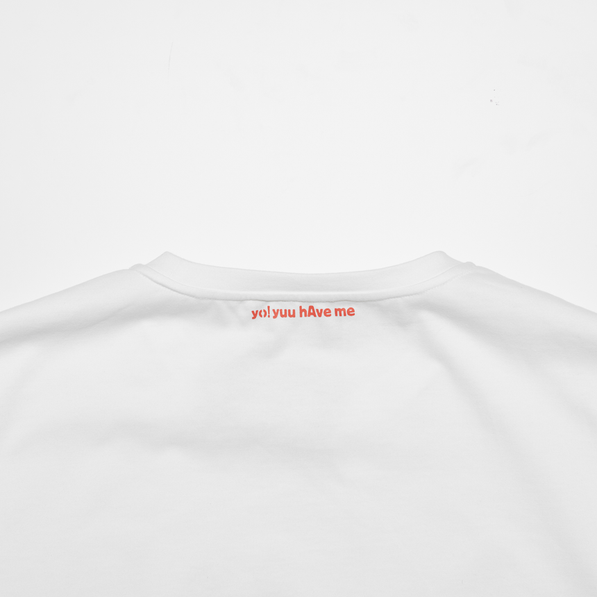 Lucca Embroidered Dove SS T-Shirt (White)