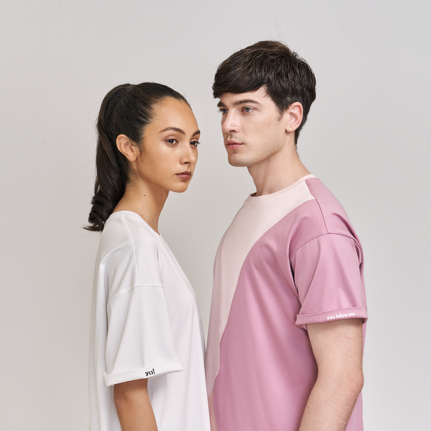 Apex Envelope SS T-Shirt (Neutral Pink)