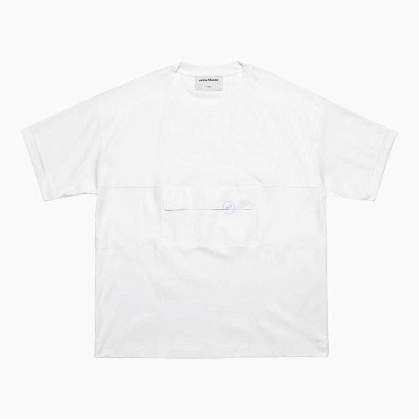Carrier Tyvek Pocket SS T-Shirt (White)