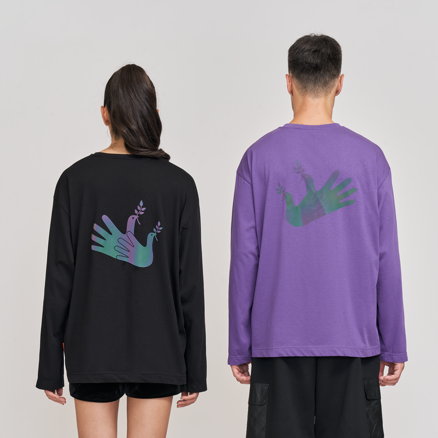 Radiance Reflective L/S Tee (Black)