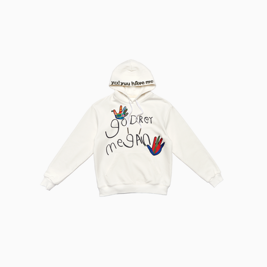 Beautiful Dreamer Kids Pullover Hoodie (Off White)