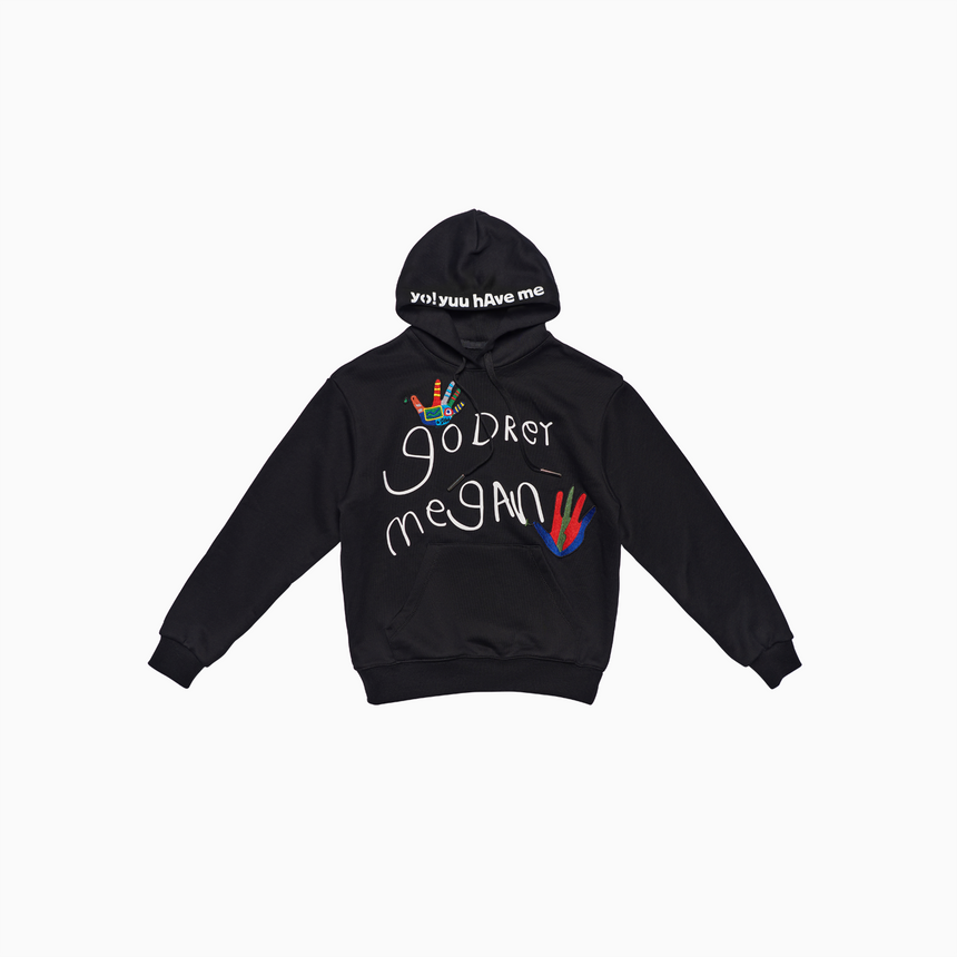 Beautiful Dreamer Kids Pullover Hoodie (Black)