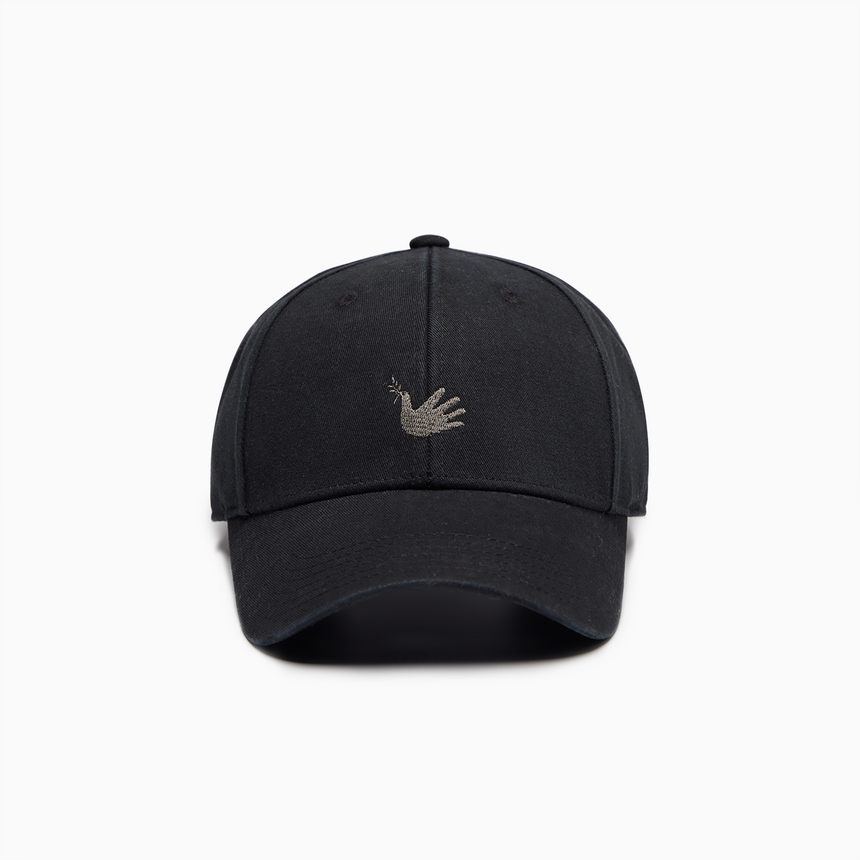 Lucca Embroidered Sports Cap (Black)