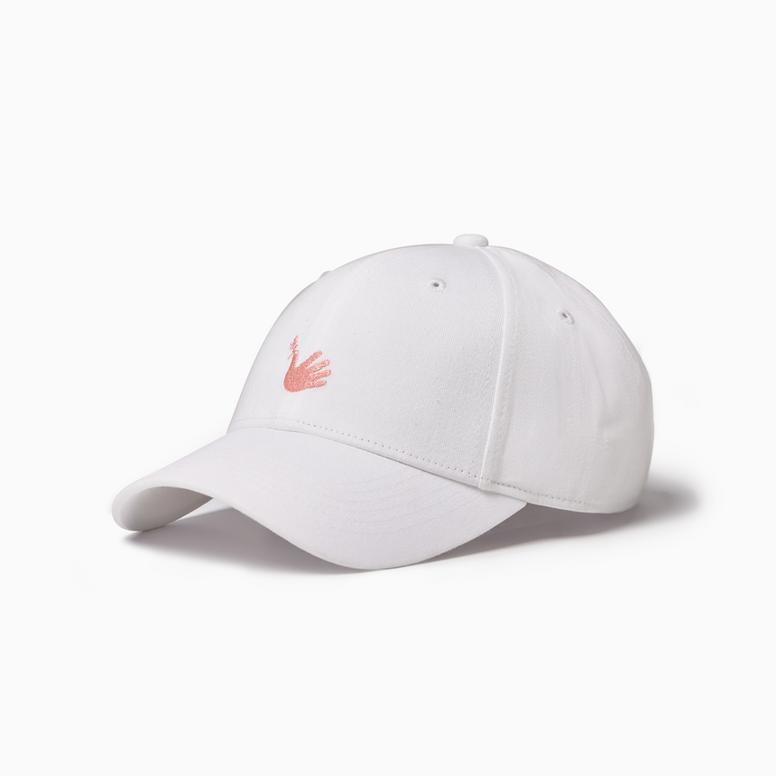 Lucca Embroidered Sports Cap (White)