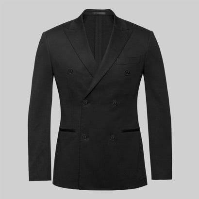 Granville 360 Suit Jacket (Coal Black)