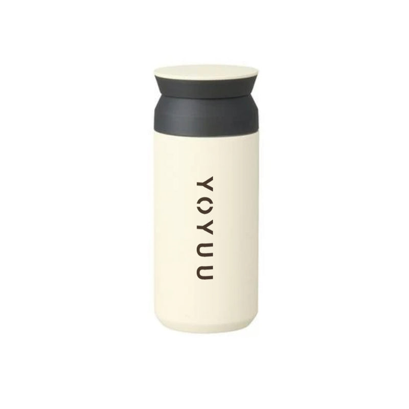 YOYUU x KINTO TRAVEL TUMBLER (WHITE)