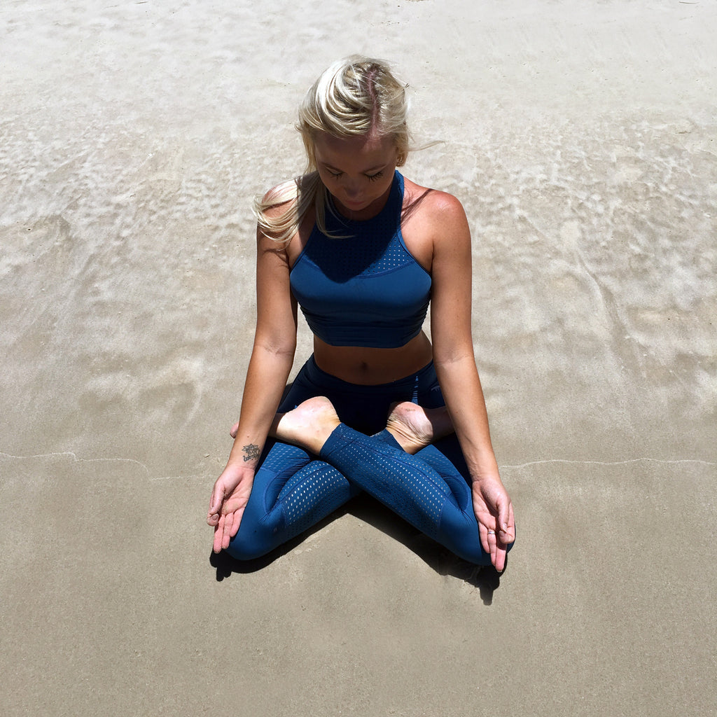 WANDERLUXE yoga | Slowing down from distraction