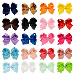 Grosgrain Bow with clip - shabbyflowers.com