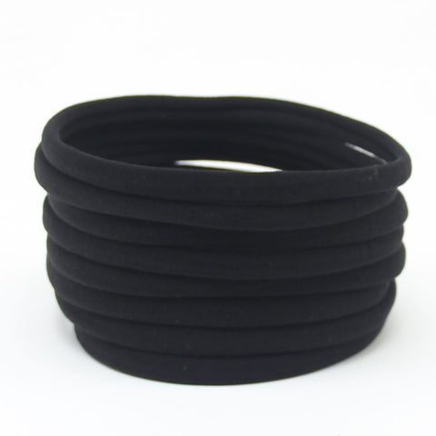 Nylon Headband- Black