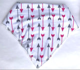 Bandana Bib - Arrows - shabbyflowers.com