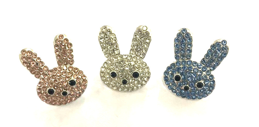 Embellishment - Bunny - Choose Your Color - shabbyflowers.com