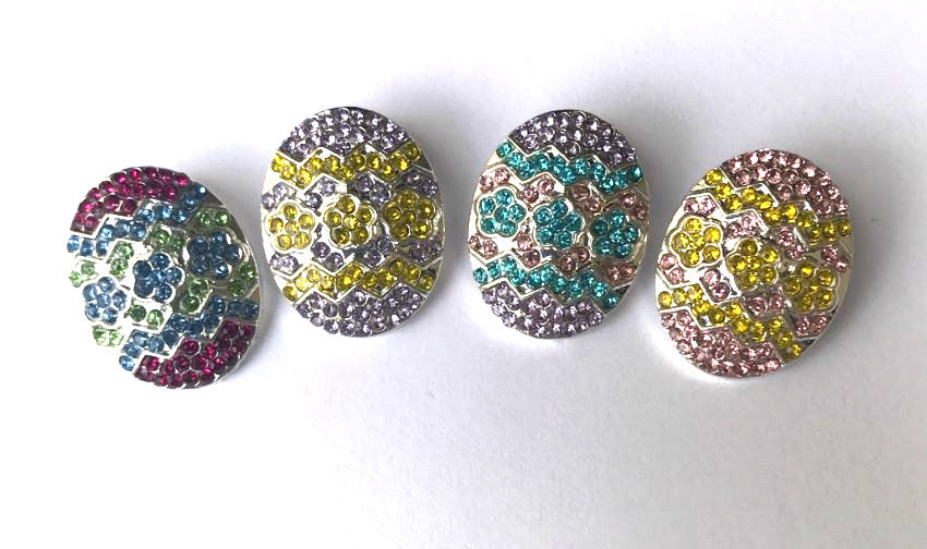 Embellishment - Easter Eggs - Choose Your Color - shabbyflowers.com