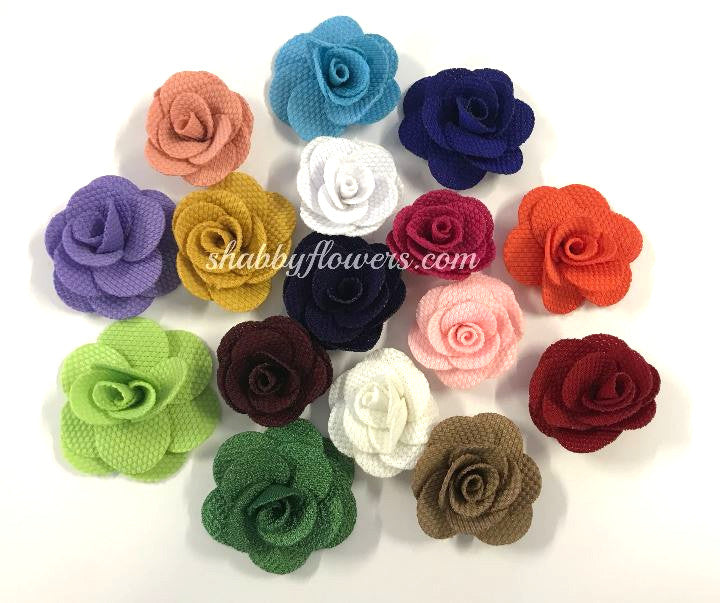 Felt Rose Flowers - shabbyflowers.com