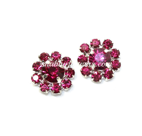 Embellishment - Small Rhinestone in FUCHSIA