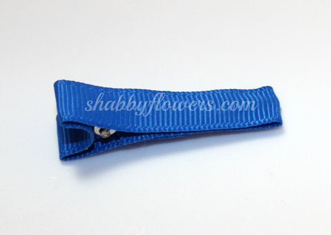 Lined Clip in Royal Blue