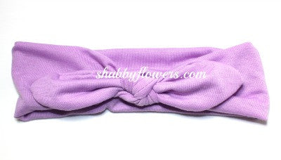 Knot Headband in Lavender- Small