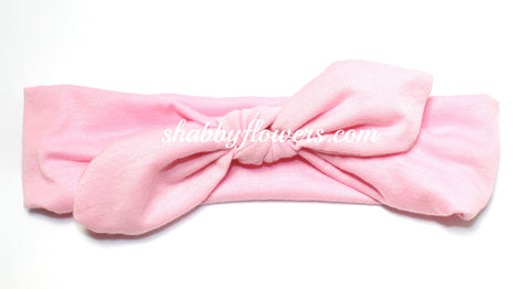 Knot Headband in Light Pink- Small