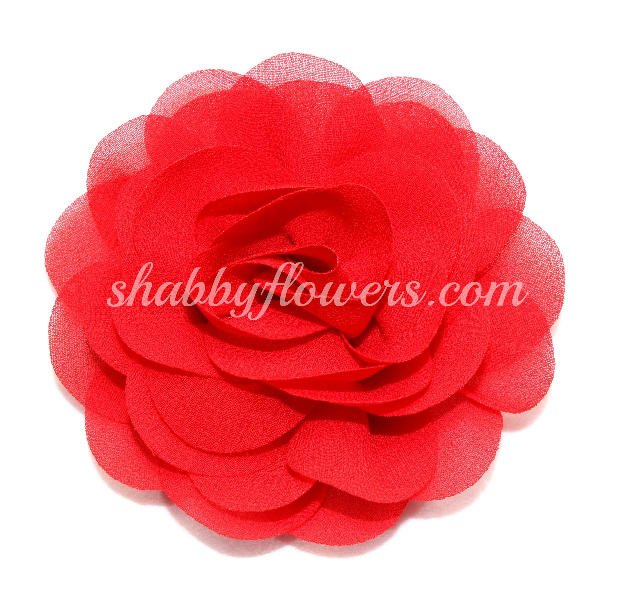 Rose - Red - shabbyflowers.com