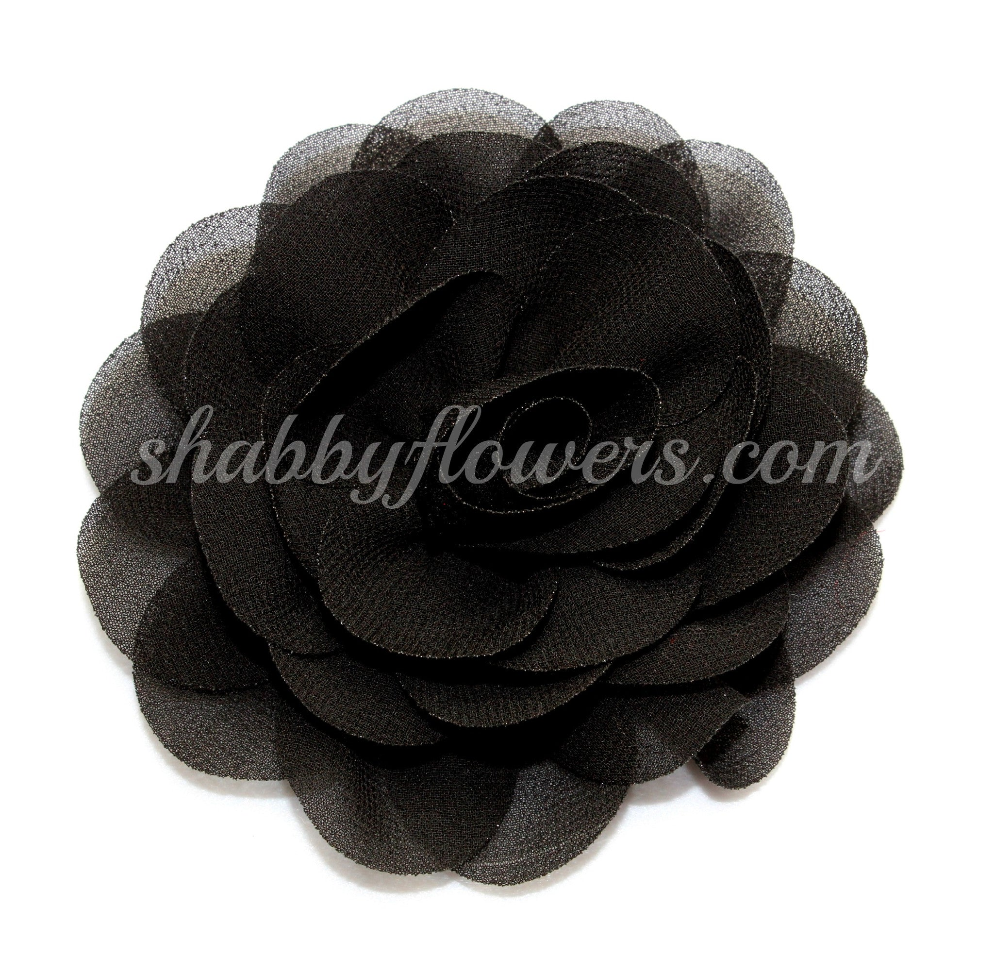 Rose - Black - shabbyflowers.com