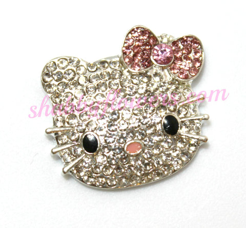 Embellishment - Kitty - Pink