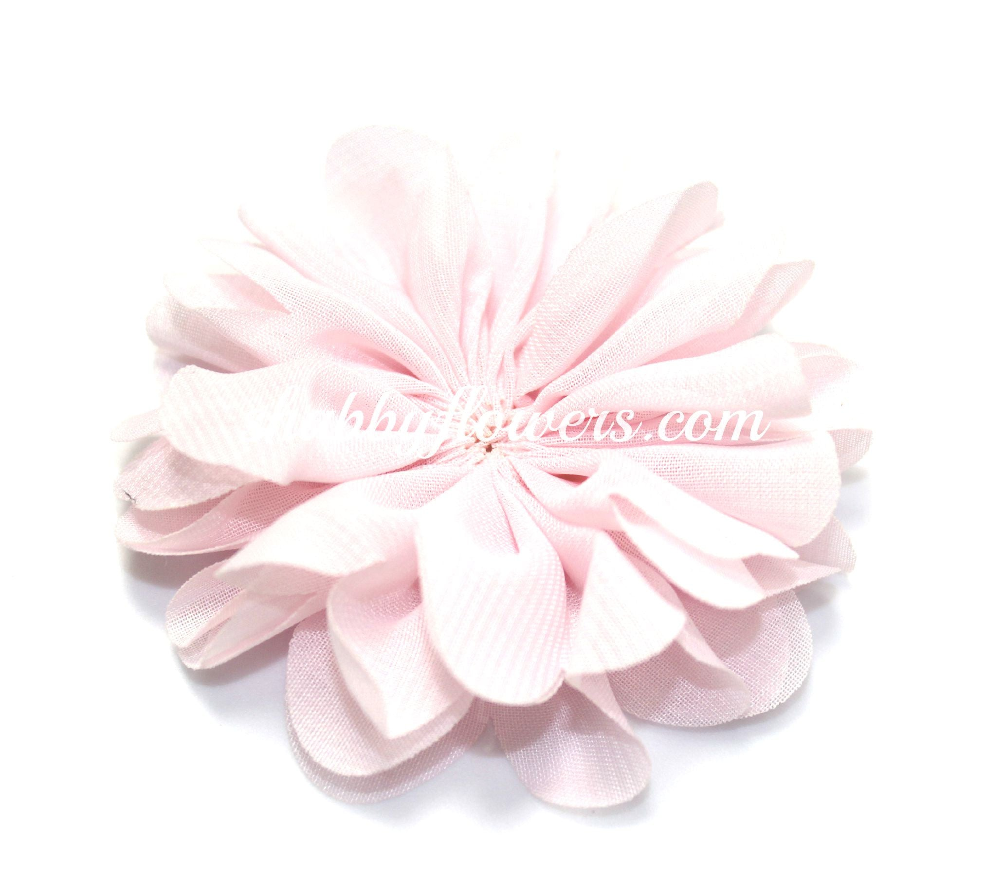 Scalloped Flower - Pale Pink