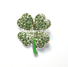 Embellishment - Clover Shamrocks - shabbyflowers.com