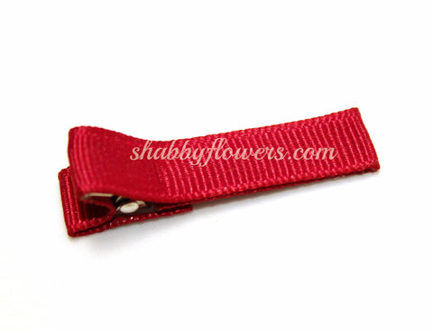 Lined Clip in Red
