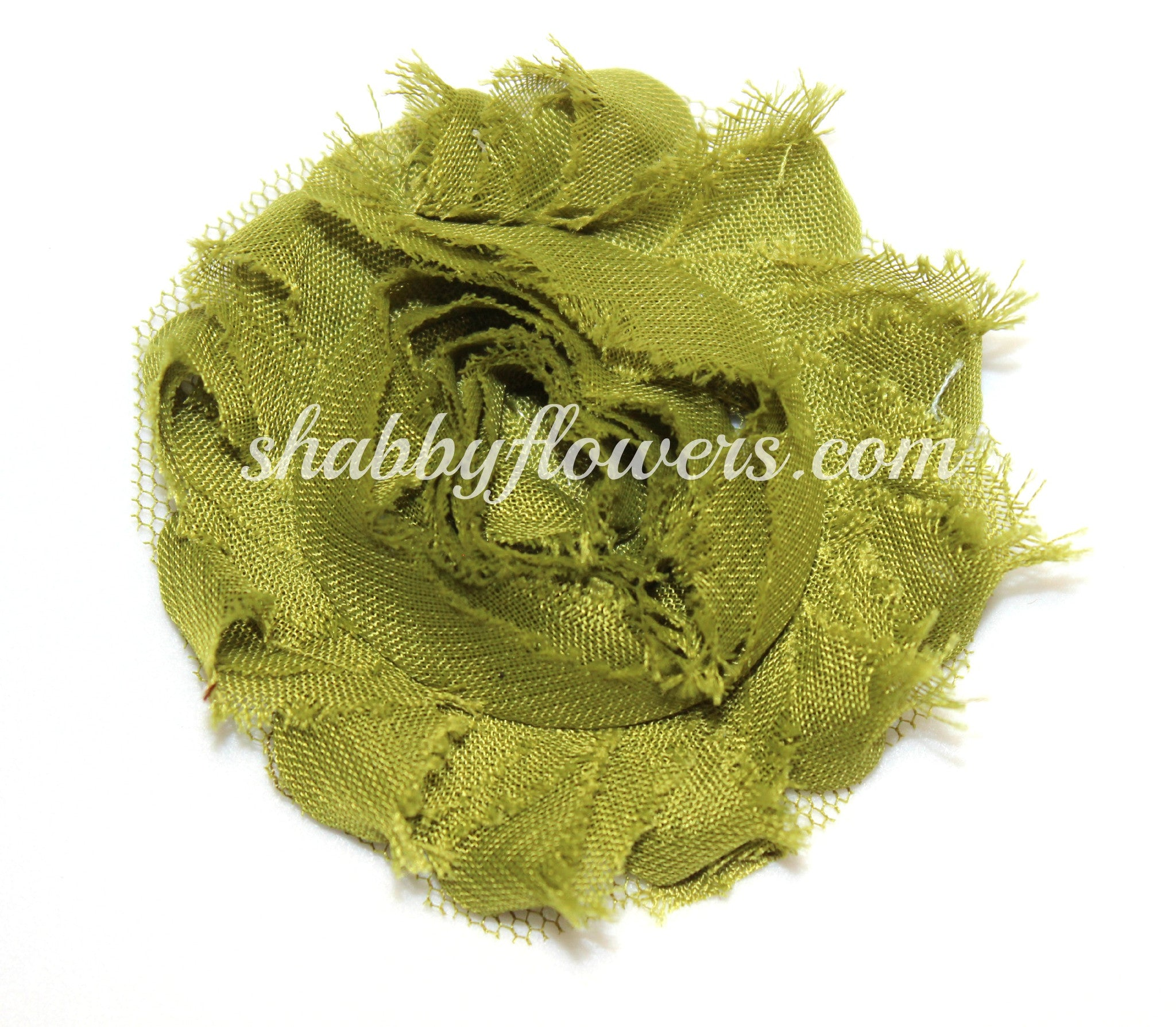 Shabby Flower - Olive - shabbyflowers.com