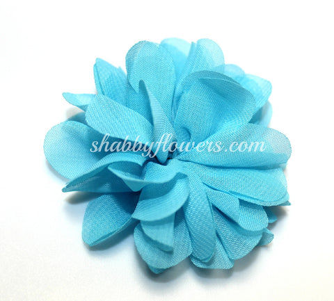 Scalloped Flower - Turquoise