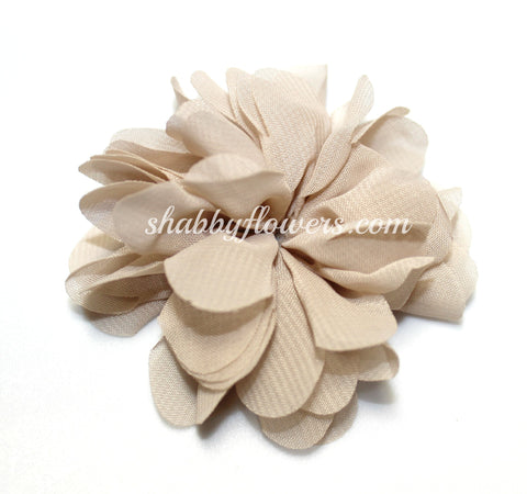 Scalloped Flower - Nude