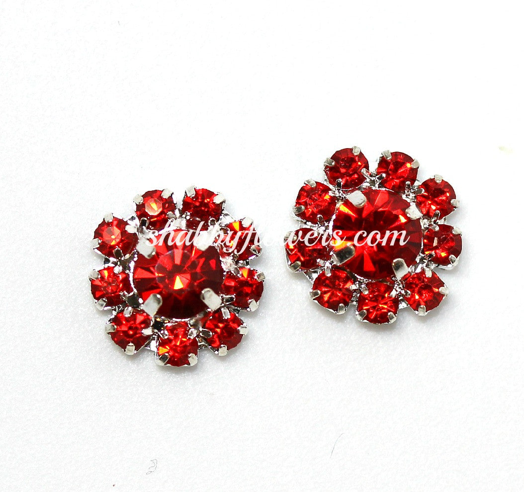Embellishment - Small Rhinestone in RED