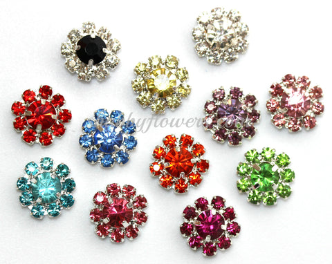 Embellishment - Small Rhinestone Grab Bag (7 colors)
