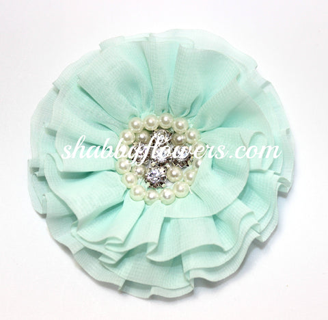Jeweled Flower - Mint