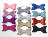 Glitter Bow Pack of 12 - shabbyflowers.com