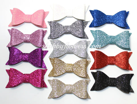 Glitter Bow Pack of 12