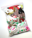 Grab Bag - Elastic Mixed Variety- 30 yards -1/4 lbs - shabbyflowers.com