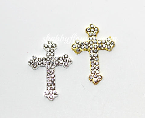 Embellishement - Rhinestone Cross Rhinestone - Choose your color