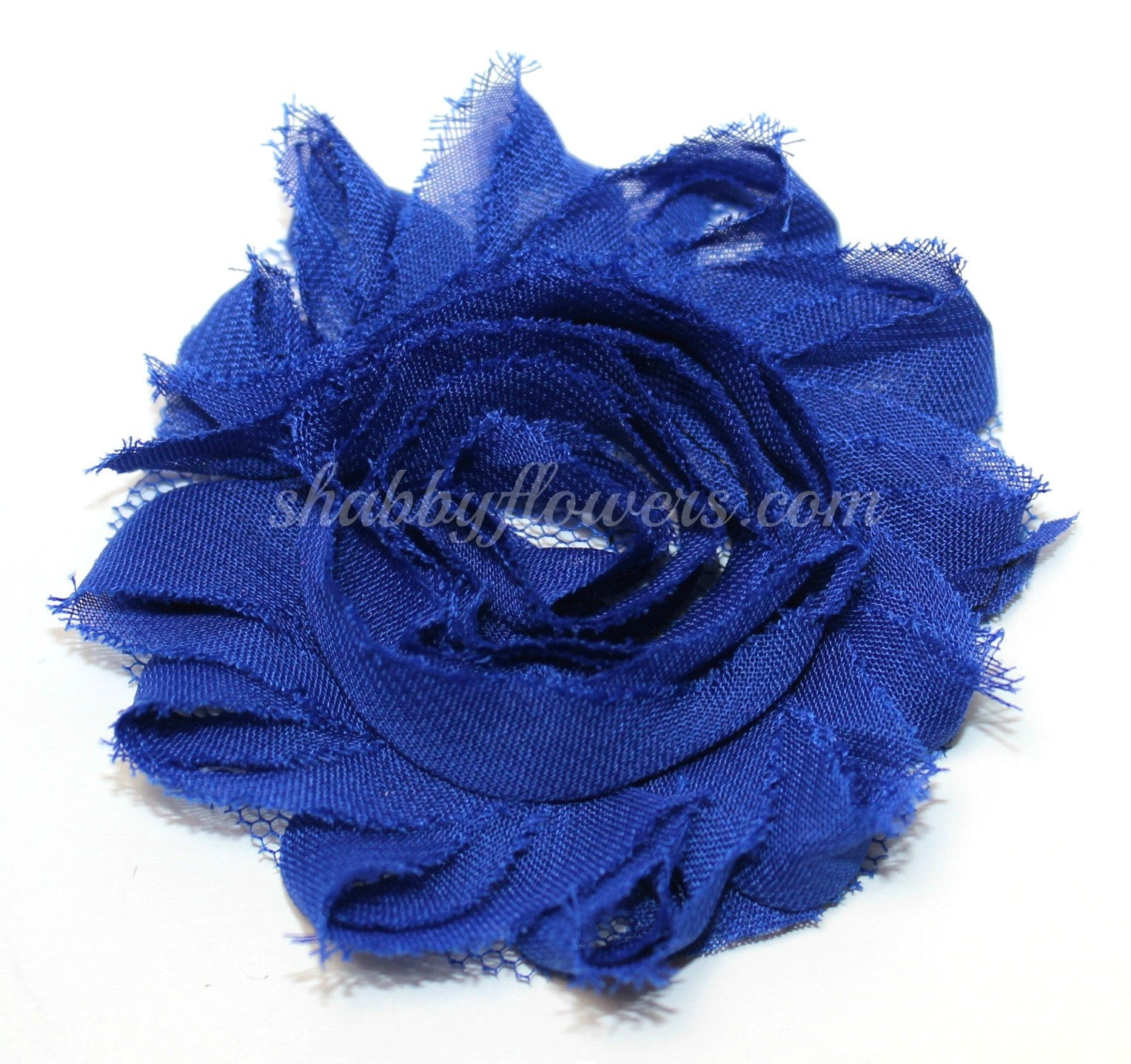 Shabby Flower - Royal Blue - shabbyflowers.com