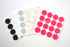 Felt Circles - 1 Inch (16 Per Sheet) - shabbyflowers.com