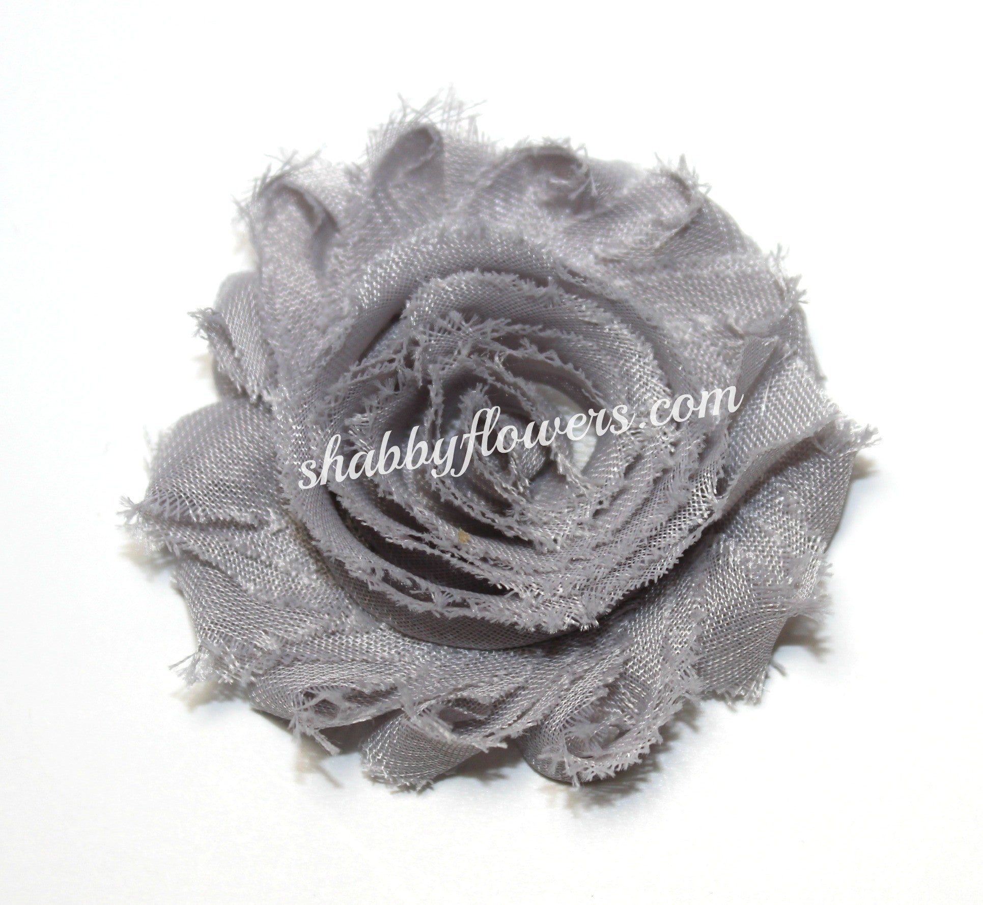 Shabby Flower - Silver - shabbyflowers.com