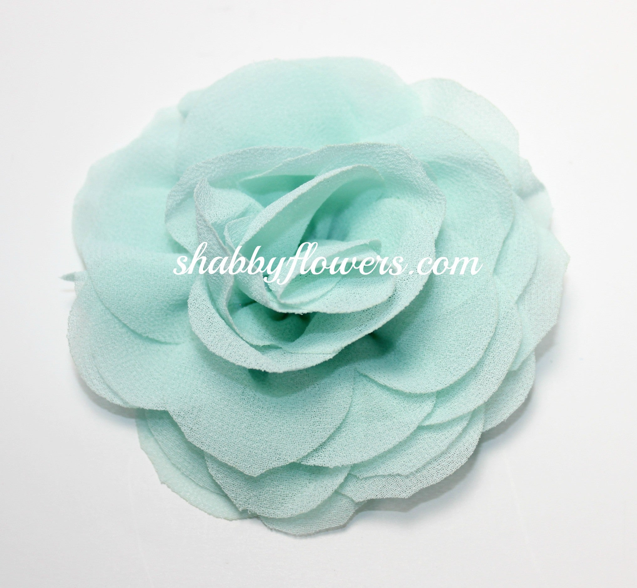 Rose - Mint - shabbyflowers.com