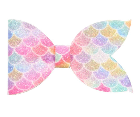 Mermaid Bow - Bright Pastel