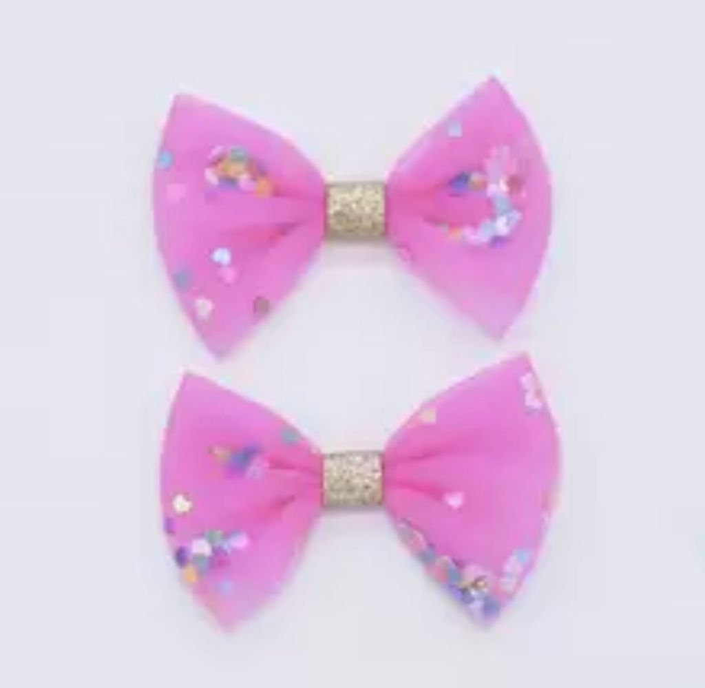 Confetti Bows - Choose your color - shabbyflowers.com