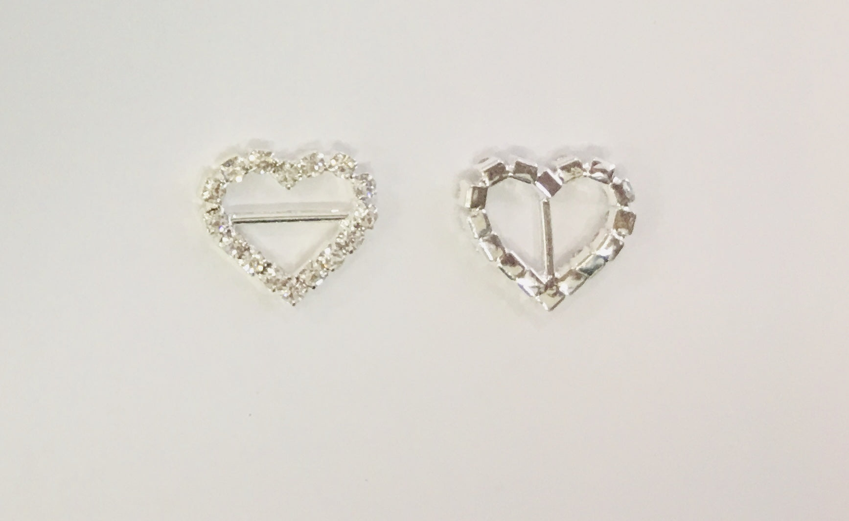 Embellishment - Rhinestone Heart - shabbyflowers.com