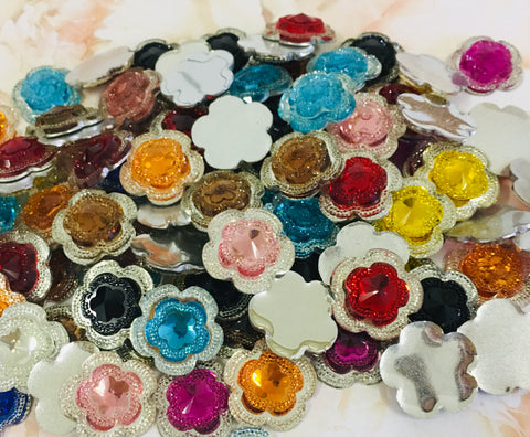 Acrylic Flowers Grab Bag - 10 flowers