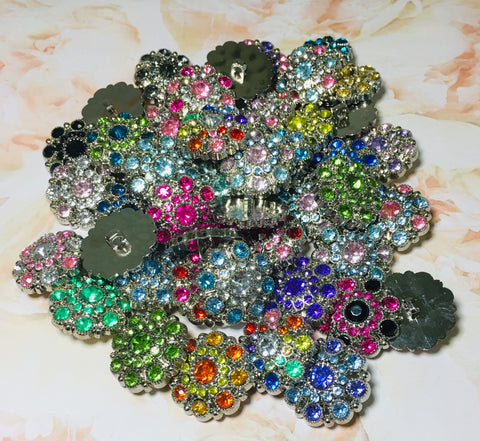 "1 1/8"" Acrylic Button Grab Bag - 5 buttons"