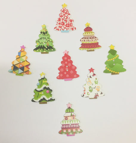 Grab Bag -  3 Christmas Tree Resins